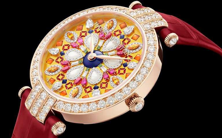 腕間迷幻眩目想像!海瑞溫斯頓「Kaleidoscope萬花筒」系列頂級珠寶腕錶 將華麗進行到底