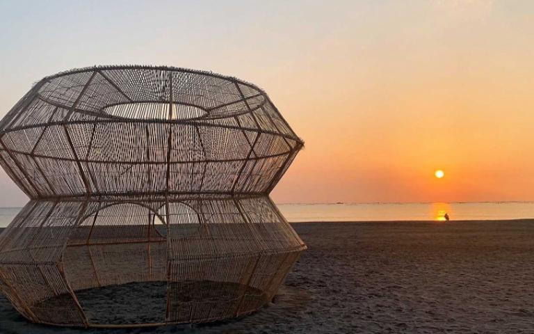 2021漁光島藝術節!12件超美作品把夕陽浪花變展場