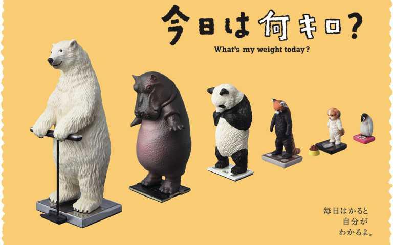 宅家防疫變胖幾公斤了?站上Tanita體重計的動物表情,是不是有點似曾相識…
