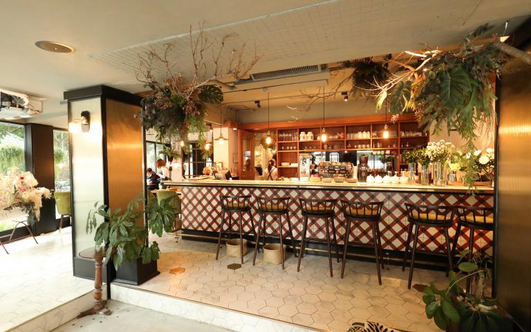 森呼吸 城市中的綠意餐廳