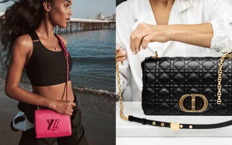 時尚品牌的「優雅新生」:LV、DIOR玩轉經典符碼 將LOGO變成包款旋釦、金屬鏈袋