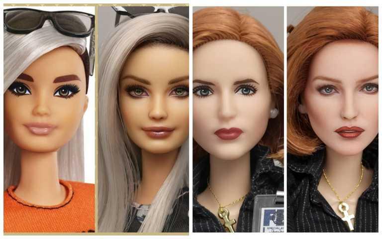 童年玩具再升級!芭比娃娃「年代感」妝容大改造,瞬間變得超時髦!