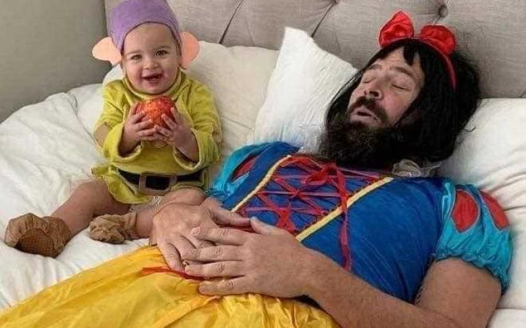 和孩子一起搞笑!絕對會是以後最美好的回憶~