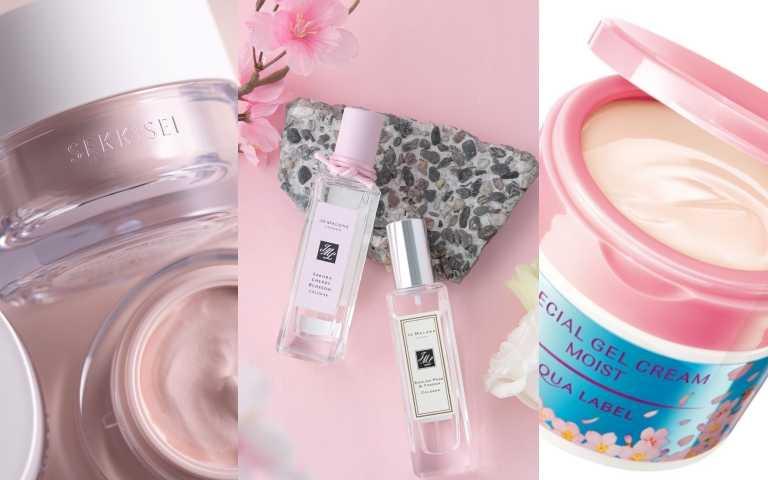 最療癒的櫻花香氣來了!限量版Jo Malone London櫻花香水回歸、保養推出櫻花限量版、高絲推出櫻花色保養光潤霜!網友一致推的櫻花美妝品全集合!