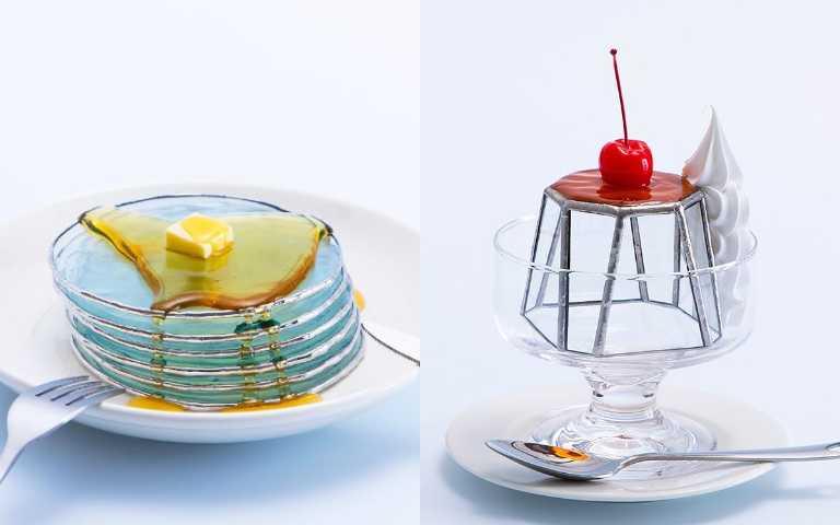 只能看不能吃!藝術家打造晶瑩剔透「玻璃」甜點,光是看著就暑氣全消!