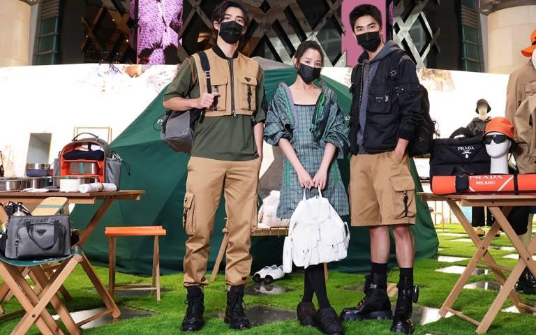 跟陳昊森、曾敬驊、王淨一起去露營!換上PRADA Outdoor系列搶先來場城市野營