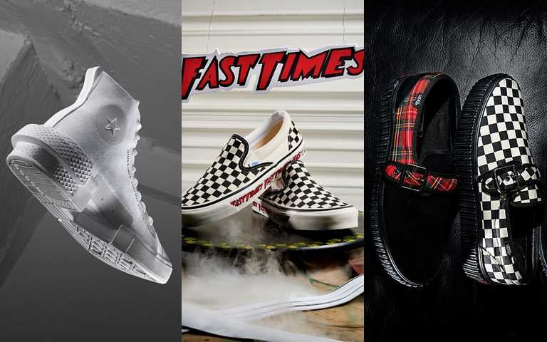 Vans、Converse將休閒鞋變帥了!黑白控、龐克控這次一定要買起來!