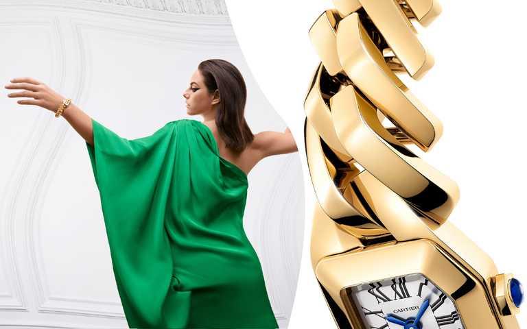 情迷腕間風景!貴金屬、創新鍊節、精鑲鐫刻工藝 為女性腕錶傾注迷人魅力