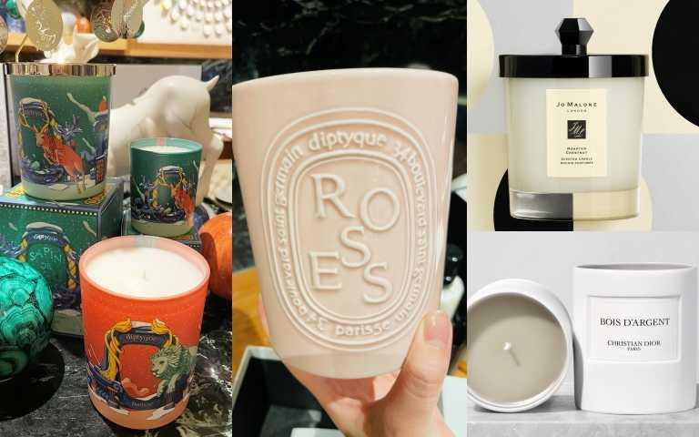 今年冬天聖誕節,保證讓你小鹿亂撞的四款絕美限量蠟燭!diptyque、JO MALONE LONDON、Dior等~~通通美到暈