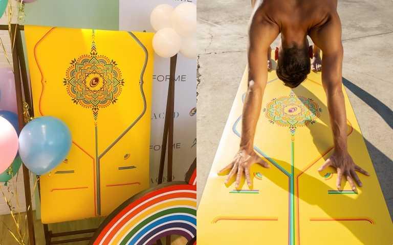 瑜珈墊中的愛馬仕再推限量版彩虹希望限定墊,用行動支持跨性別平權LGBT!