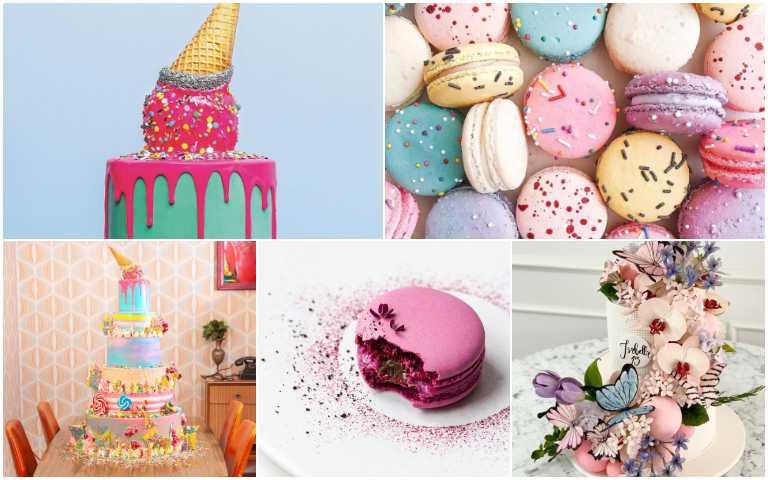 絕對突破你的想像!這幾位設計師做的不是甜點是藝術品吧!
