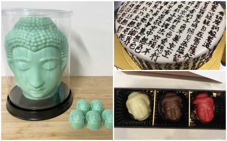 保庇!保庇!日本心經蛋糕、大佛巧克力,神聖到不太敢吃的「佛系」甜點!