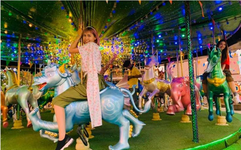 【另類玩芭達雅1】一次玩泰國77府!最新樂園「暹羅傳奇」真人娜娜鬼屋必玩
