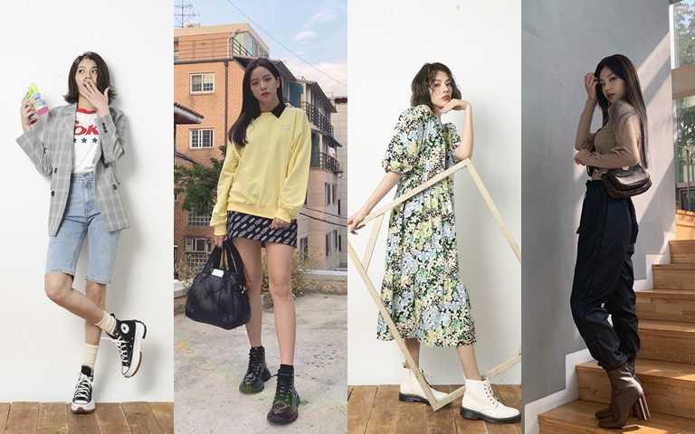 先把球鞋收起來!與韓國時尚女星同步穿搭 春季靴款先入手這些!