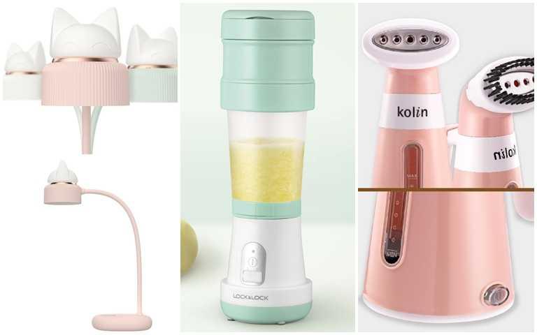 2020母親節購物滿額禮超給力~小檯燈、摺疊果汁機、手持掛燙機…全都是機能性一級棒的家電小物!