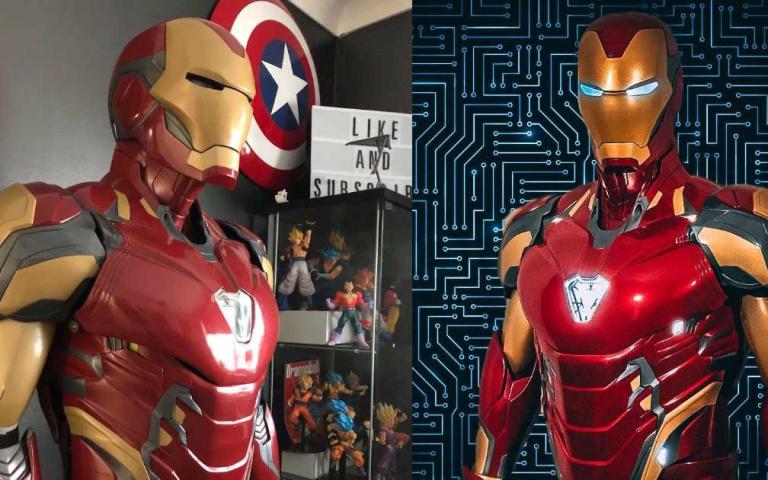 《Marvel》鐵粉又閃瞎所有網民!Frankly built更細膩的「鋼鐵人 」~
