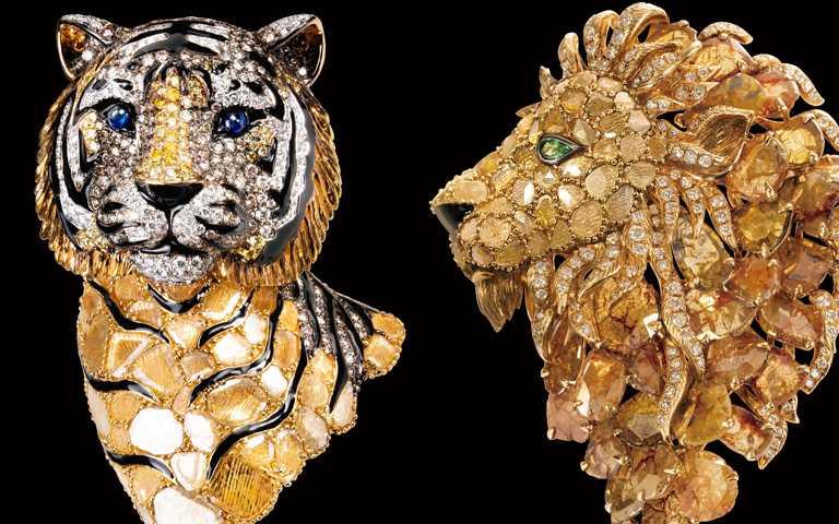 巧手雕琢自然界萬物神韻!藝術珠寶融合中西方美學 展演滿園繽紛世界
