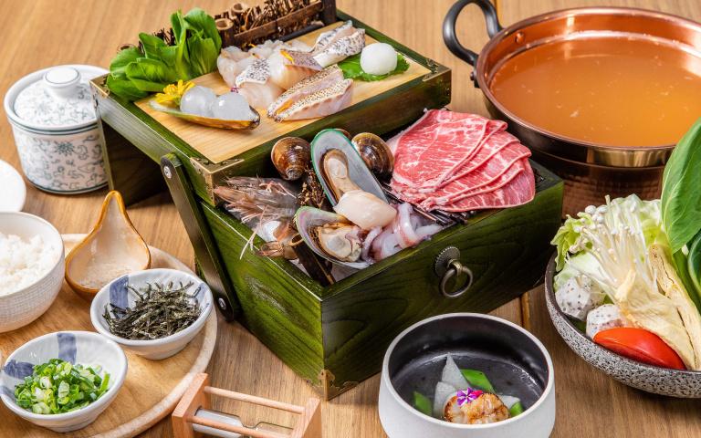 全台首創「海洋珠寶盒」吃過嗎?超狂鍋物祭出期間限定優惠 一次嘗遍龍虎斑四大部位