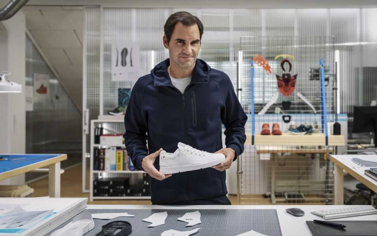 世界球王Roger Federer 也愛的瑞士慢跑鞋 ON inc!
