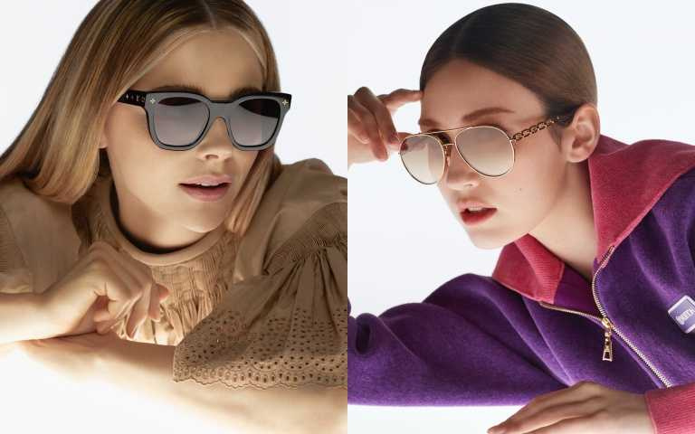 LV 推出全新太陽眼鏡系列!3大系列復古框型收服克蘿伊·摩蕾茲、Somi的心
