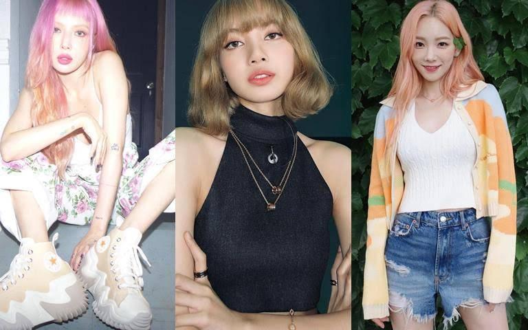 Lisa、太妍、泫雅…韓國女星都在瘋的超飽和髮色,教妳怎麼在家自己DIY輕鬆染!