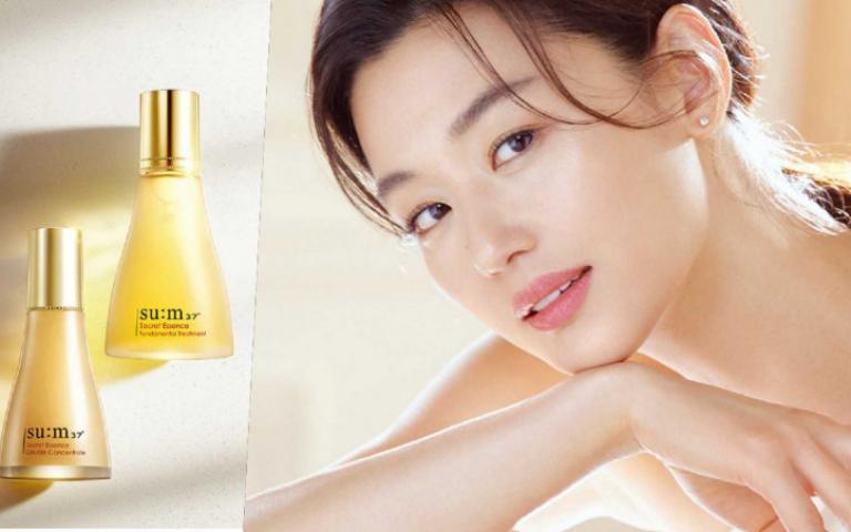 韓國美妝品牌su:m37º簽下她!最強亞洲女神全智賢重磅回歸!