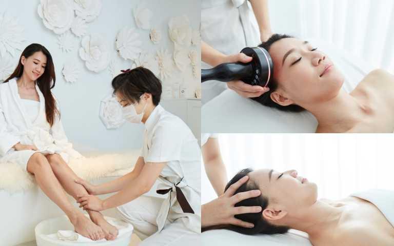 一個午休就能變美的 mini SPA、超舒服會睡著的頭皮養護療程......跟貴婦學變美就靠一個月來一次!