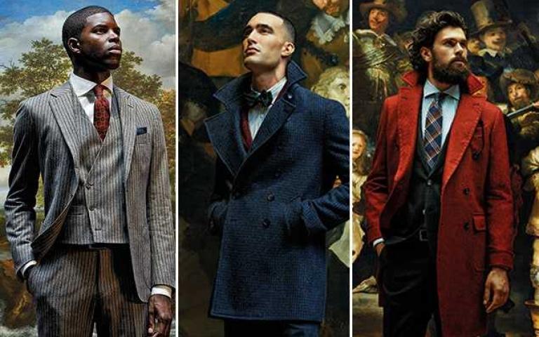 舉足輕重的西裝品牌 以精緻工法呈現 紳士們最體面的外著體現!
