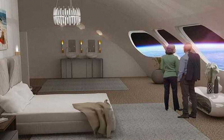 科幻片真實上演啦!首間「太空旅館」內部曝光 看一輪日出日落「只要90分鐘」