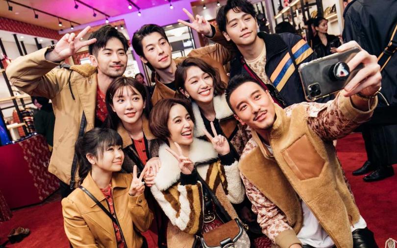 郭雪芙、陳庭妮、許光漢等眾星演譯美式復古 時尚派對上都玩嗨了!