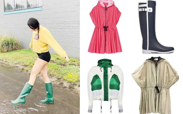 梅雨季報到!不想出門被大雨淋得一身狼狽?雨衣雨鞋還不快點準備好!