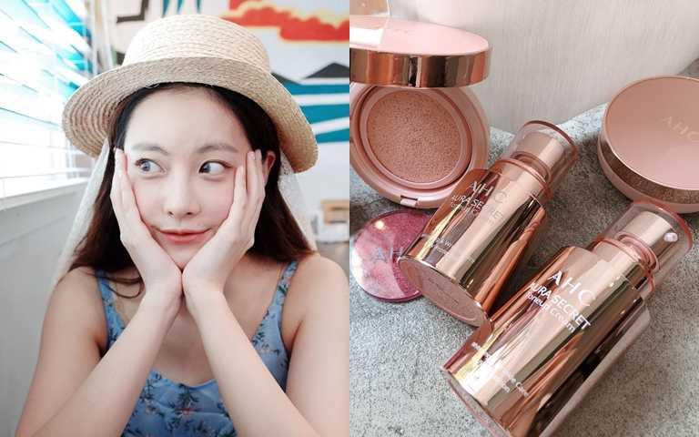 韓國最美素顏吳漣序~臉上透出粉紅光的秘密就是用了這瓶被大家瘋搶的粉紅霜!!