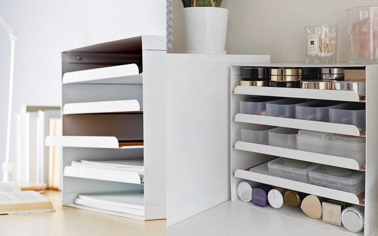 IKEA文件匣可以這麼用?神仙姐妹發現的化妝品收納神器