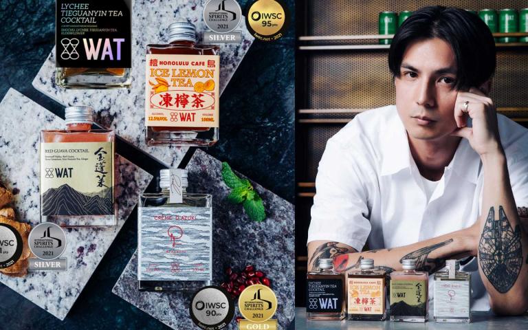 勇奪酒界國際大獎!超美瓶裝調酒、西班牙名廚餐廳 雙雙上榜