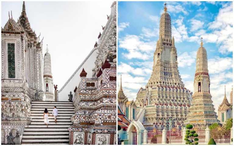 白色系景點「鄭王廟」,擠身曼谷必打卡超夯景點之一!