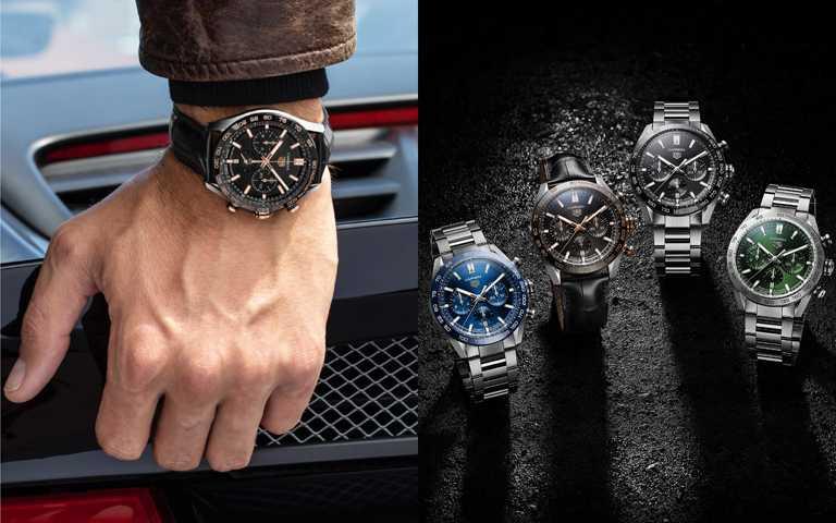 極速賽道爭分奪秒!泰格豪雅慶祝160周年 全新「Carrera系列」賽車計時腕錶4連發!