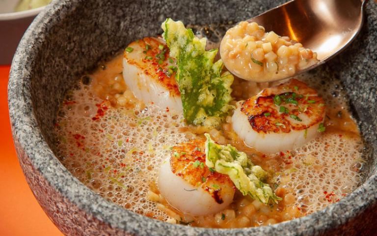 秋天Fun縱味蕾 北海道生食級干貝、南法烤章魚 搶「鮮」上桌