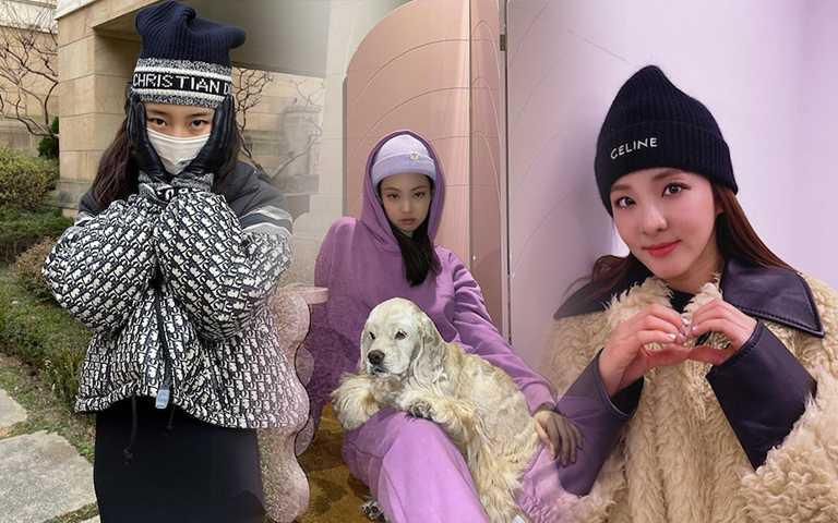 DIOR、YSL、CELINE、Vivenne Westwood本季發燒單品!快看韓星演繹時髦的毛帽LOOK