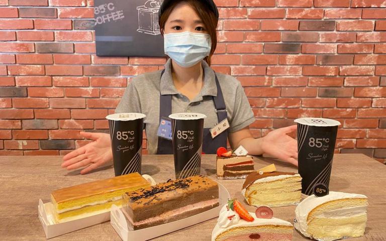 大杯咖啡第二杯只要20元!85℃推出超狂開工優惠 「蛋糕+飲料」限定組合價百元有找!