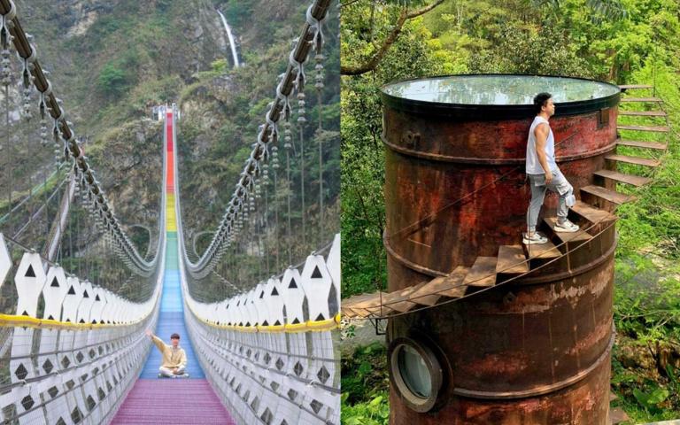 跟霍爾一起住進城堡!「南投三天兩夜」熱門景點大公開,全台最美「彩虹吊橋」想打卡還得先預約!