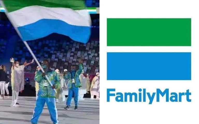 全家贊助到奧運了?!「獅子山共和國」綠白藍三色國旗,像極了巷口超商!