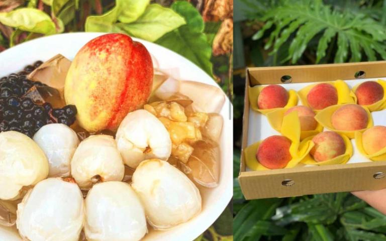 滿滿荔枝、整顆水蜜桃超犯規 最強愛玉冰5月強勢回歸