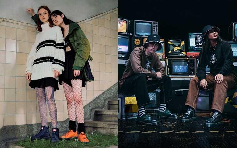 時髦的街頭潮人必入手的帥靴!Dr. Martens聯名X-girl、Onitsuka Tiger復刻靴再登場!