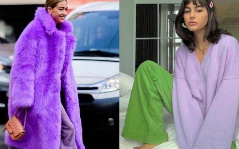 穿搭前段班:秋冬想成為時髦小天才,就必須學會怎麼穿搭「紫色」!