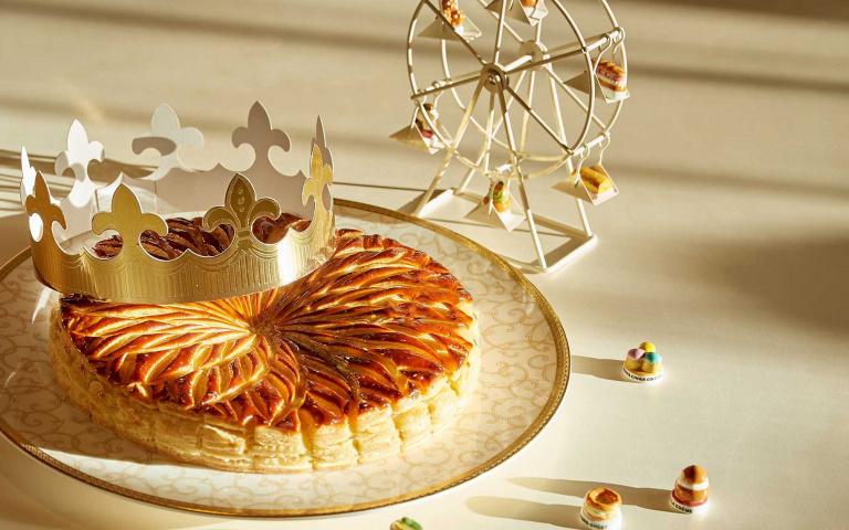 好吃又好「玩」!台北五星酒店推出限量「國王派」 吃到「小瓷偶」就能好運一整年!