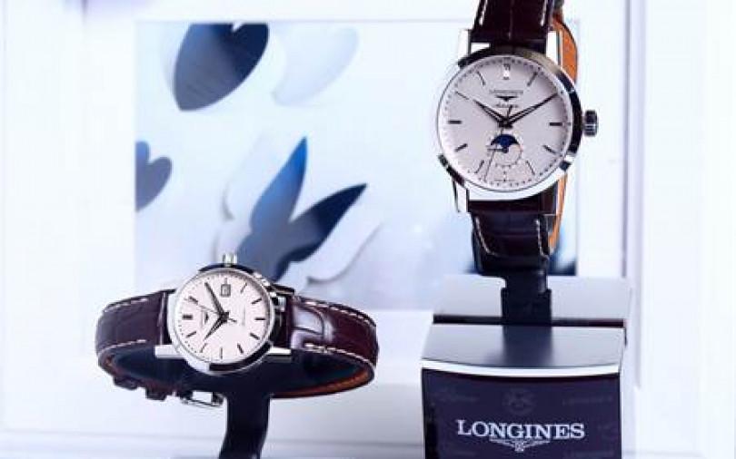 情人節表心意 LONGINES浪漫對錶四重奏