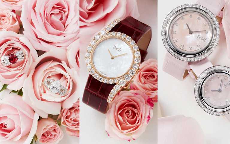 從嫣紅到火紅!伯爵七夕情人節紅色系珠寶及腕錶 以層次色彩美學演繹不同階段愛戀