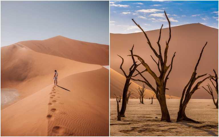罕見的紅沙漠!納米比亞死亡谷,在荒漠中帶來全新生機!