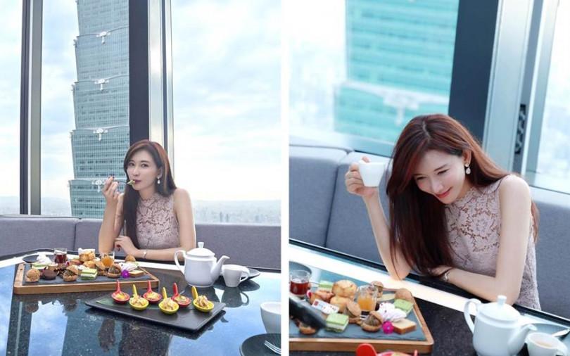 【潮食人】 志玲姊姊最後的單身下午茶@48樓CÉ LA VI Taipei 最新推「天空樹茶饗宴」