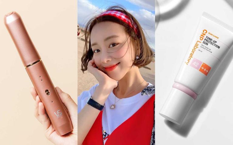 超迷你電棒、IU愛用防曬霜…旅遊化妝包裡就是這4個絕對不能少!